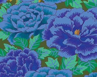 1/2 yard Kimono Cobalt Turquoise GP33 Limited Edition