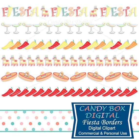 mexican fiesta border clipart mexican clip art with chili