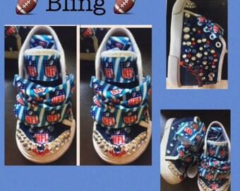 Boys*Sports Sneakers*Boys Sports Bling Sneakers*Boys Sneakers*Boys Kicks*Sports Kicks*Boys High Tops* NFL Sneakers*Sports Shoes*NFL Sneakers