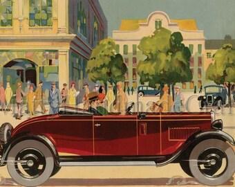 Austin 12, Eaton, 1930s, Advertising, Print
