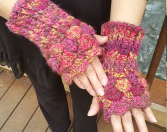 Cathedral Fingerless Gloves