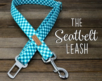 The Seatbelt Leash - Perfect for dogs on the go!