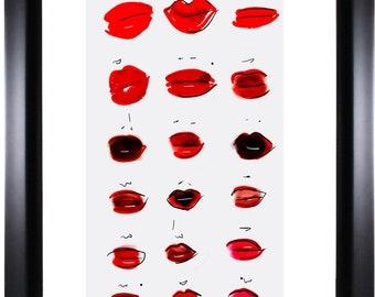 A Study of Lips
