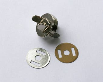 Closing magnet for closing bag 14mm - bronze