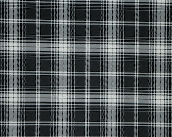 "Plaid Scuba Techno Double Knit Print #55 2-Way Stretch Polyester Lycra Spandex Apparel Craft Fabric 58""-60"" Wide By The Yard"