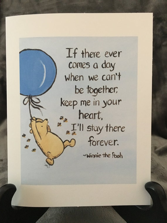 Thinking of you card classic winnie the pooh greeting card i m4hsunfo