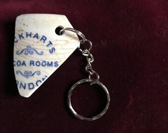 Victorian Lockharts Cocoa Rooms shard keyring