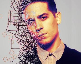 G-Eazy Poster, G-Eazy, G-Eazy Art, G Eazy Print, Hip Hop Poster, Hip Hop, G-Eazy Wall Art, G Eazy Fan Present, G Eazy Artwork,