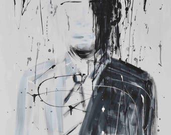 President Barack Obama Abstract Art Custom Acrylic Painting