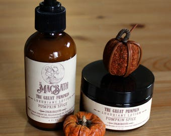 The Great Pumpkin Body Lotion