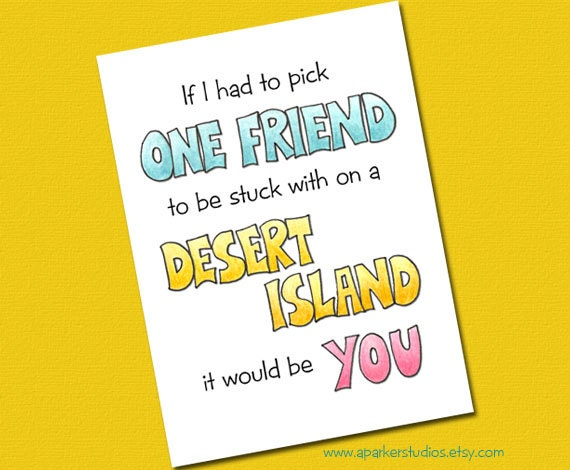 Best Friend Birthday Card Funny Birthday Card Birthday card