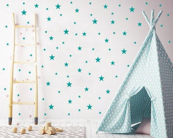 Stars Wall Decals Nursery / Nursery Wall Decal. Star Wall Decal. Star Wall Stickers. Wall Vinyl Sticker Nursery. Baby Room Decor Art F10
