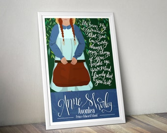 Anne of Green Gables Print, Part 1. Children of Literature Series