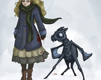Luna and Thestral