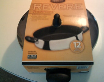 revere cookware 12inch saute pan new