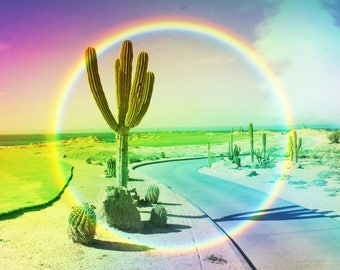 36 Professional Photoshop Rainbow Filters For Boho Photography