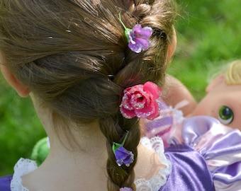 Rapunzel's Hair Clips