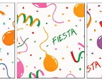 OilclothByTheYard Fiesta in Your Choice of Color