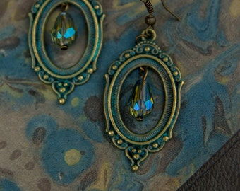 Victorian Frame Earrings