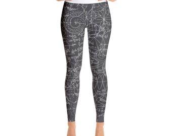 Yoga Leggings Math Edition