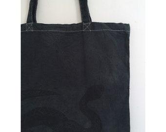 Blue Snake Tote Bag
