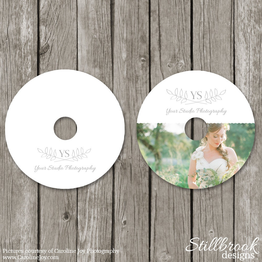 CD/DVD Label Templates Wedding Photography CD Stickers