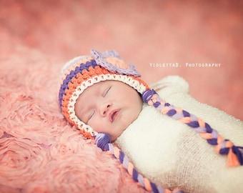newborn girl hat, baby hat, newborn hat, baby girl hat, crochet girls hat,  crochet girls, girls winter hat, crochet hat for girls, girl hat