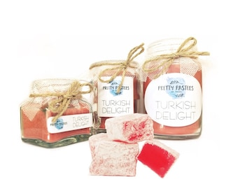 Turkish Delight Scented Soy Candle