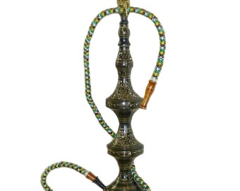 Brass Metal Hookah Large