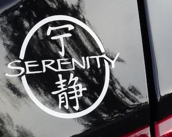 Firefly Serenity Logo - Vinyl Decal - Multiple Colors