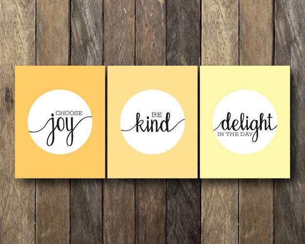 Printable Quote Set Encouraging Wall Art Instant Download