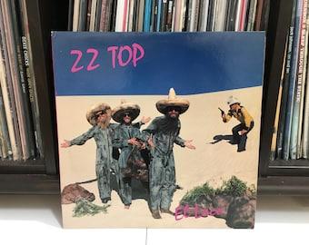 """ZZ Top - """"El Loco"""" vinyl record"""