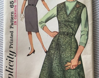 Vintage Simplicity Jumper Sewing Pattern, Never Used