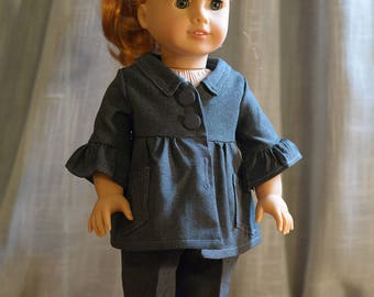 18 inch doll clothes - Office Doll Outfit
