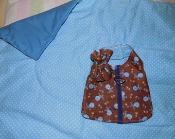 Dog Harness Vest with Matching Quilt Set Size Medium