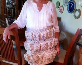 Crocheted Egg Apron