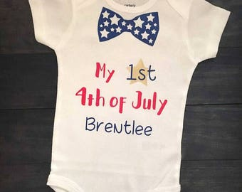 First 4th of July Bodysuit