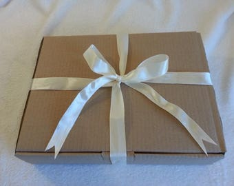 Ribbon Tied Gift Box, Gift Packaging, Gift Box