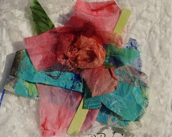 A Rose - abstract floral art - Perfect Gift