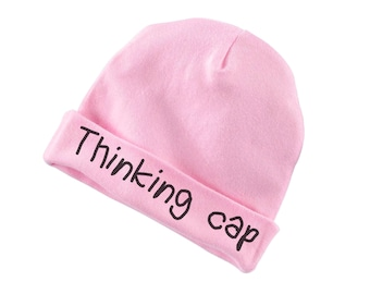 Thinking Cap Funny Cotton Beanie For Infants