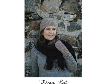 Virva Hat - PDF Knitting Pattern