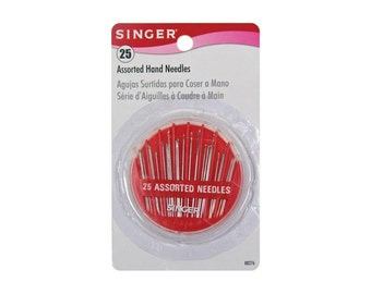 Singer 25 Assorted Hand Needle Compact #00276