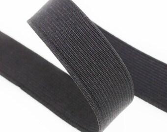 Spool of 25 m 50mm black elastic
