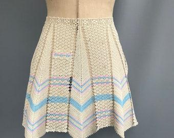 1920s/30s crochet half apron/ pinny