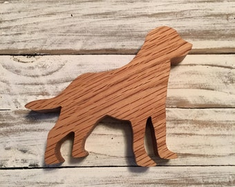 Labrador Retriever wood ornament