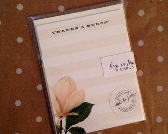 Magnolia thank you cards