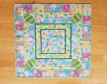 Colorful Easter Table Runner Centerpiece Placemat