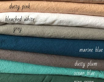 100 % NATURAL FABRICS samples, natural linen, natural HEMP, finished fabrics, softened, prints, striped, wide fabrics for bedding, colored