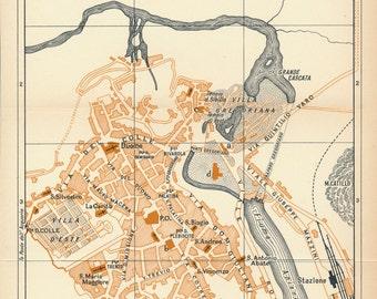 Tivoli italy map Etsy