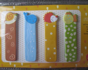 Sticky notes - Sticky note themed animals - 4 different designs